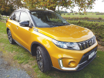 Feisty Vitara right on the mark