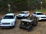 Jeep's offerings in NZ.