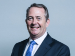 Britain's trade secretary, Dr Liam Fox.