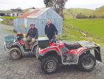 Quads an indispensable and major part of farm management strategy