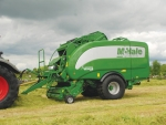 McHale grass harvesters/wrappers.
