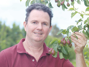 Paul Payntor director and group general manager of Hawkes Bay orchard operation, Johnny Appleseed.