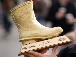 This year, two Australian and six Kiwi bachelors will battle to win the Golden Gumboot.