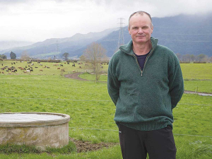 Andrew McGiven, Federated Farmers Waikato president.