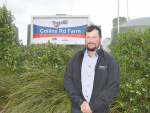 Collins Road Farm manager Jason Colebourn is staying on to work for Shanghai Pengxin in Hamilton.