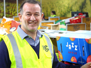 Andrew Keaney, managing director of T&G Fresh, says Fairgrow will use surplus fruit and vegetables to help feed Kiwis in need.