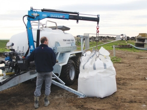 Metalform's Tow and Fert fertiliser applicator.