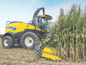 The newly launched FR920 is New Holland's most powerful forage harvester.