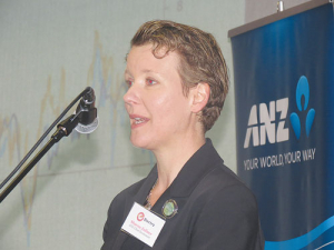 Sharon Zollner, ANZ chief economist.