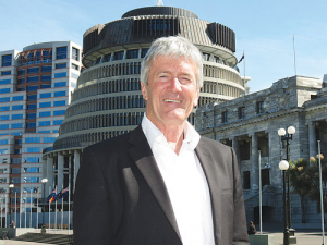 Damien O'Connor in Wellington last week.
