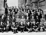 A 1916 photo of New Zealand Horticulture leaders.