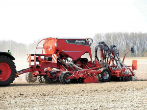 The Kverneland 4m U-Drill+.