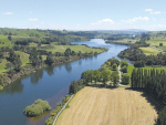 A plan has been announced to improve the health of rivers in Waikato.
