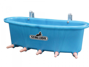 New five-calf open feeder from Stallion Plastics.