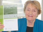 Parliamentary commissioner for the environment, Jan Wright with her latest report.
