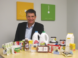 Fonterra Brands New Zealand managing director Tim Deane.
