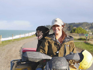 Live to Will co-founder Elle Perriam is one of the star guest speakers at the fast-approaching 2021 East Coast Farming Expo in Wairoa. Photo Supplied.