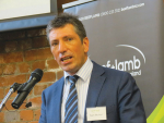 Beef + Lamb New Zealand chief executive Sam McIvor.