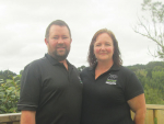 Northland farmers Glen and Trish Rankin.