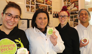 Big grins as cheesemaker collect more medals