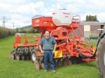 Paul Hunter says his new Kuhn drill's calibration is simple and extremely accurate.