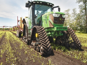Track systems see typical slip values of 3-5%, compared with 12-15% for wheeled tractors in good conditions.
