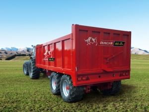 Good feedback for new Duncan Agmech trailers