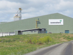 Ravensdown's new $30m facility in New Plymouth.