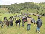The Ahuwhenua field days attracted big crowds.