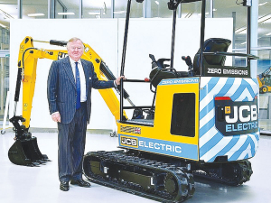 JCB's mini electric excavator.