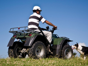 Farmers are being urged to keep themselves and staff safe when doing routine jobs with vehicles.