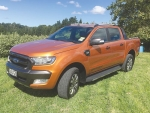 The new Ford Ranger Wildtrak.