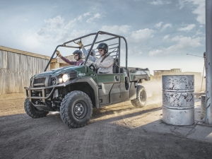 Kawasaki's Mule model of ATVs have been regularly upgraded.