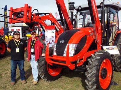 Boton tractors' NZ debut