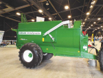 Dual-purpose Keenan Orbital spreads muck up to 20m