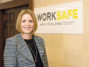 WorkSafe chief executive Nicole Rosie.