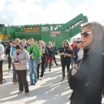 Dairy Women's Network members on a farm tour.
