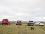 Holden's SUV range exploring the Chatham Islands.