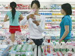 Chinese appetite for dairy growing