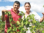 Emma Lowe and Marcelo Nunez of Monowai Estate.