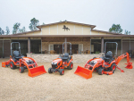 Kubota's new sub-compact tractors arriving here next year.