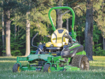 John Deere's new ZTrak zero-turn mower.