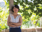 Silver Heights vineyard owner, Emma Gao.