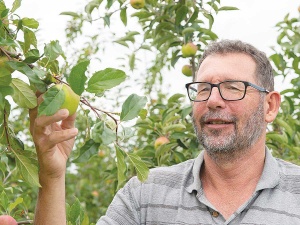 Dr Richard Volz says the outcome of the NZ/Spanish apple research project has been a tremendous achievement.