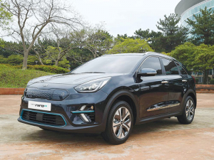 The all-electric Niro EV recently unveiled in Korea.