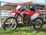 Honda's latest CRF 250F.