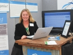Agrecord's Gretchen King will be demonstrating the company's Cloud Farmer programme at the Expo.