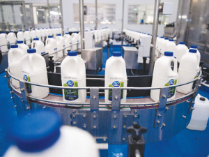 The A2 Milk Co has more than doubled its profit.