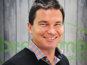 Beef+Lamb NZ marketing manager Nick Beeby.