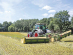 Krone mower ideal for rocky terrain